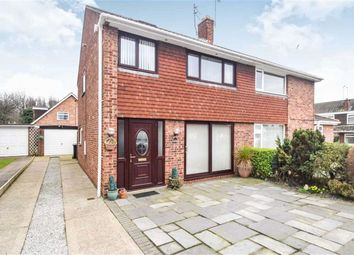 Thumbnail 3 bedroom semi-detached house for sale in Highfield Close, Sutton, Hull