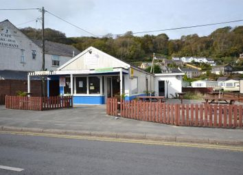 Thumbnail Commercial property for sale in The Shapla Curry House, Marsh Road, Pendine