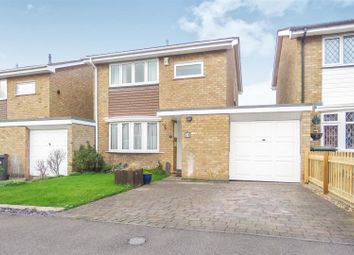 Thumbnail 3 bed link-detached house for sale in Flexmore Way, Langford, Biggleswade