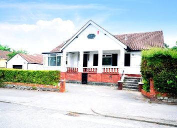 Thumbnail 3 bed bungalow for sale in Cyncoed Road, Cyncoed, Cardiff