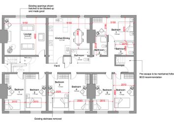 Thumbnail 7 bed town house to rent in Hardman Street, Liverpool