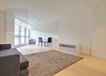 Thumbnail 1 bed flat to rent in Charrington Tower, Biscayne Avenue