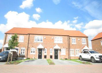 Thumbnail 2 bed terraced house for sale in Kielder Drive, Waddington, Lincoln