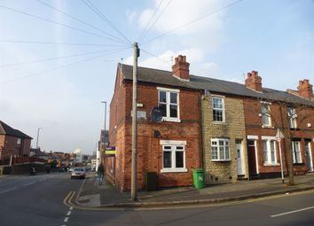 Thumbnail 2 bed end terrace house for sale in Wordsworth Road, Nottingham