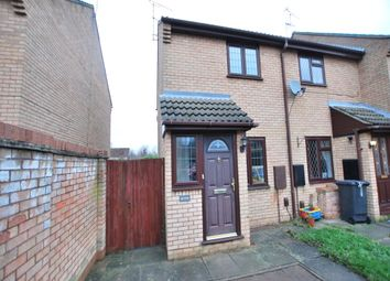 Thumbnail 2 bed end terrace house to rent in Cutlers Way, Leighton Buzzard