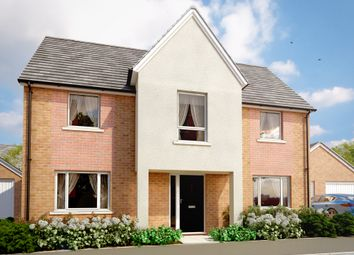 "Thumbnail 3 bed detached house for sale in ""The Oaksey"" at Amesbury Road, Longhedge, Salisbury"
