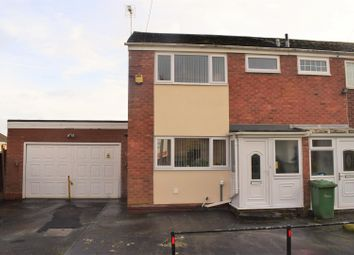 Thumbnail 3 bed mews house for sale in Hilton Avenue, Nuneaton