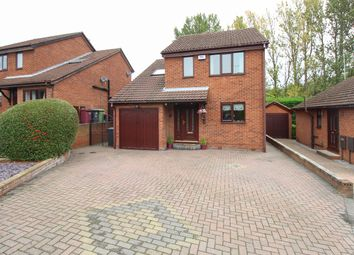Thumbnail 3 bed detached house for sale in Cutler Close, Killamarsh, Sheffield
