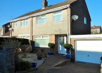 Thumbnail 3 bed semi-detached house for sale in Springfiled Avenue, Upper Killay
