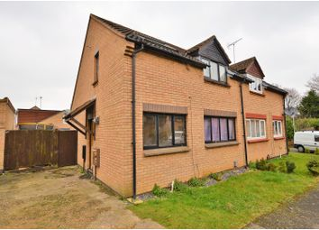 Thumbnail 3 bed semi-detached house for sale in Irondale Close, Northampton