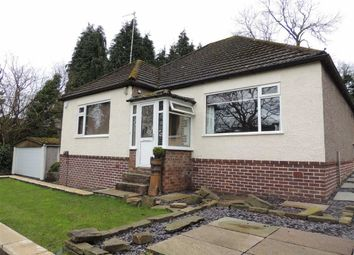 Thumbnail 2 bed detached bungalow for sale in Strines Road, Strines, Stockport
