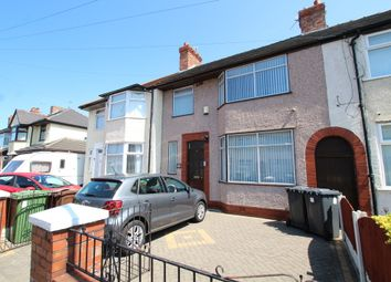 Thumbnail 3 bed terraced house for sale in Eltham Avenue, Liverpool