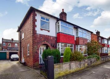 Thumbnail 3 bed semi-detached house for sale in Maxwell Avenue, Great Moor, Stockport, Cheshire