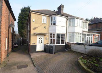 Thumbnail 3 bedroom semi-detached house for sale in Fairholme Road, Hodge Hill, Birmingham