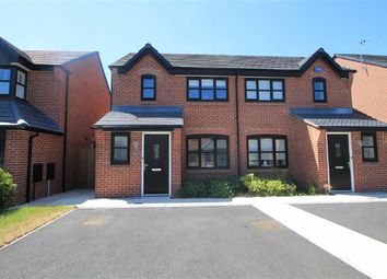 Thumbnail 3 bed semi-detached house for sale in Cassidy Way, Eccles, Manchester