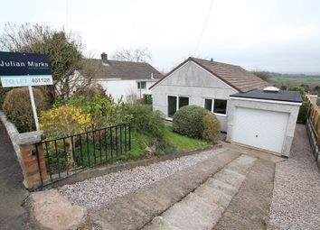 Thumbnail 3 bedroom detached bungalow to rent in Dunstone View, Plymstock, Plymouth