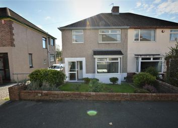 Thumbnail 3 bed semi-detached house for sale in Woodford Avenue, Plymouth, Devon