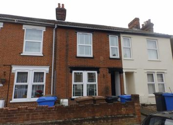 Thumbnail 3 bed terraced house for sale in Gladstone Road, Ipswich, Suffolk