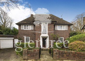 Thumbnail 5 bed detached house to rent in West Heath Close, Hampstead