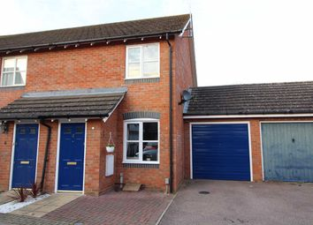 Thumbnail 2 bedroom end terrace house for sale in Harrier Close, Ipswich