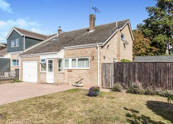 Thumbnail 3 bed detached house for sale in Honeymeade Close, Stanton, Bury St. Edmunds