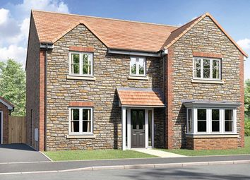 "Thumbnail 4 bed detached house for sale in ""The Cottingham"" at Pincots Lane, Wickwar, Wotton-Under-Edge"