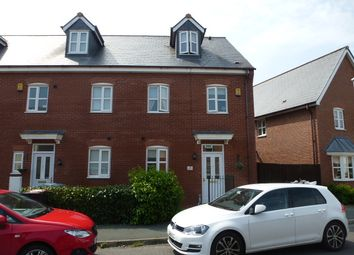 Thumbnail 4 bed town house to rent in Parkland Drive, Wychwood Village, Weston, Crewe, Cheshire