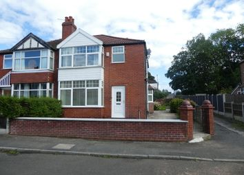 Thumbnail 4 bed semi-detached house to rent in Saddlewood Avenue, Didsbury, Manchester