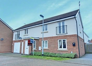 Thumbnail 1 bed flat for sale in Hidcote Walk, Welton, Brough
