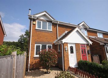 Thumbnail 2 bed end terrace house for sale in Knowles Close, Christchurch, Dorset