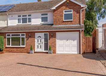 Thumbnail 4 bed semi-detached house for sale in West Road, Gamlingay