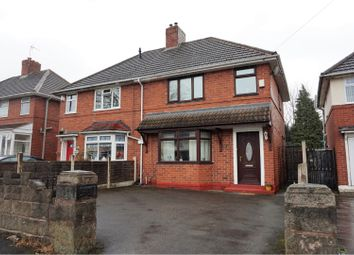 Thumbnail 3 bed semi-detached house for sale in Dangerfield Lane, Wednesbury