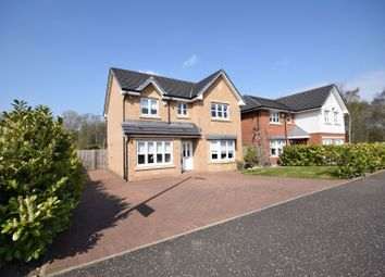 Thumbnail 4 bed detached house for sale in Willowburn Avenue, Motherwell