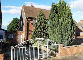 Thumbnail 2 bedroom semi-detached house for sale in Kingston Road, Worksop