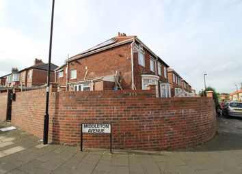 Thumbnail 3 bedroom semi-detached house for sale in Middleton Avenue, Fenham, Newcastle Upon Tyne