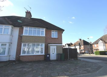 Thumbnail 3 bed semi-detached house for sale in Manor Park Gardens, Edgware, Greater London.