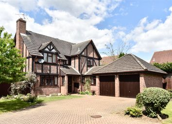 Thumbnail 4 bed detached house for sale in Lowry Close, College Town, Sandhurst, Berkshire
