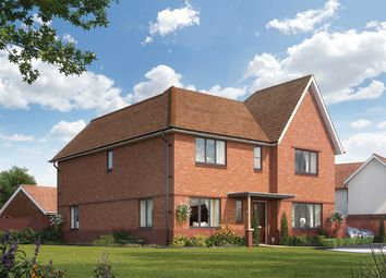 "Thumbnail 4 bed property for sale in ""The Orchard"" at Biggs Lane, Arborfield, Reading"