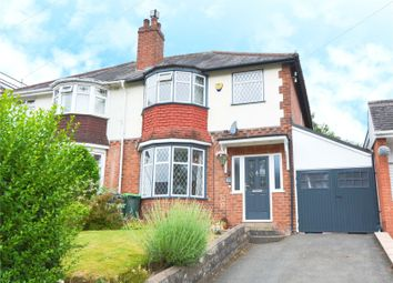 Thumbnail 3 bed semi-detached house for sale in Woodbourne Road, Bearwood, West Midlands