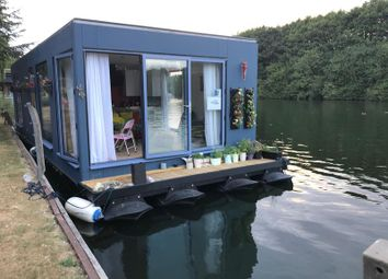 Thumbnail 1 bed houseboat for sale in Staines Road, Chertsey, Surrey