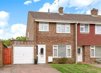 Thumbnail 3 bed end terrace house to rent in Lynwood Drive, Mytchett, Camberley, Surrey