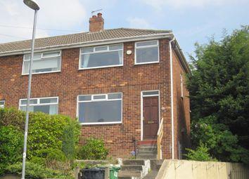 Thumbnail 3 bed semi-detached house to rent in Vesper Way, Leeds