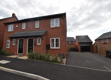 Thumbnail 3 bed semi-detached house to rent in Mulberry Way, Rothley, Leicester