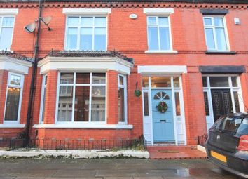 Thumbnail 3 bed terraced house for sale in Roxburgh Avenue, Aigburth, Liverpool