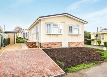 Thumbnail 2 bed mobile/park home for sale in Main Street, Upton, Huntingdon