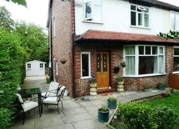 Thumbnail 3 bed semi-detached house to rent in Oldfield Road, Altrincham