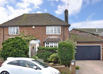 Thumbnail 3 bed detached house for sale in Vicarage Lane, Capel, Dorking, Surrey
