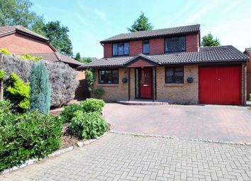 Thumbnail 4 bedroom detached house for sale in Cheylesmore Drive, Frimley