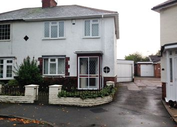 Thumbnail 3 bed semi-detached house to rent in Park Crescent, West Bromwich