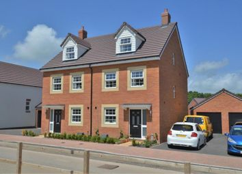 Thumbnail 3 bed semi-detached house for sale in Meadow Acre Road, Gittisham, Honiton